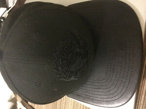 Rare Toronto Raptors all black SnapBack