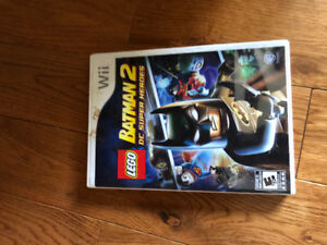 Lego Batman game for Wii