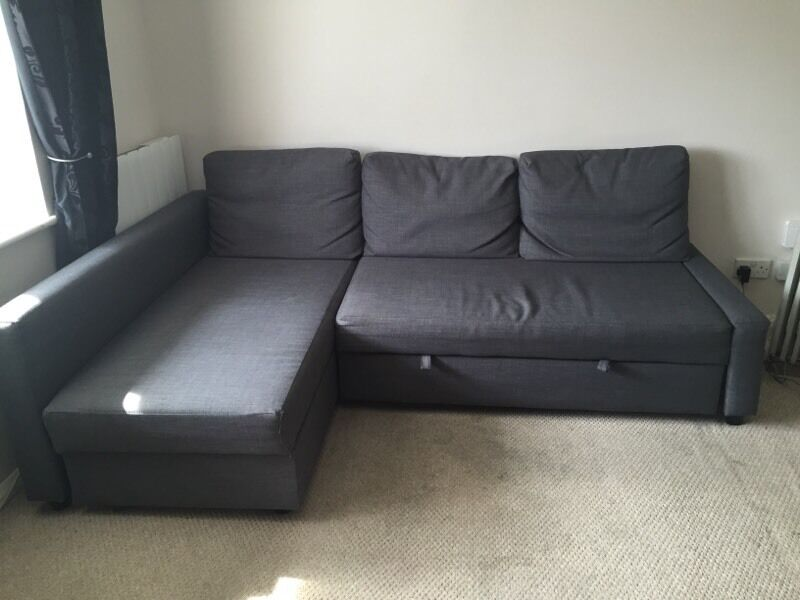 ikea friheten corner sofa sofa bed in maidenbower west sussex gumtree. Black Bedroom Furniture Sets. Home Design Ideas