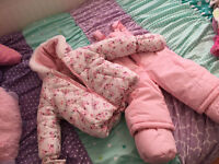 Winter suit for girl 6-12 months
