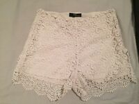 Jane Norman lace shorts