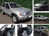2004 Jeep Grand Cherokee 2.7 CRD Limited Station Wagon 4x4 5dr