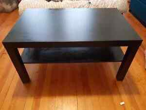 Black LACK Ikea Coffee Table