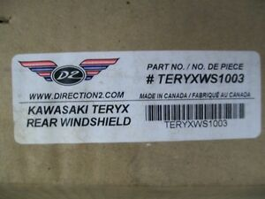 REAR WINDSHIELD/BACK PANEL - TERYX