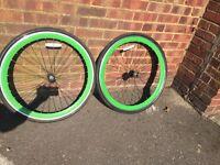 Wheels fix gear bike