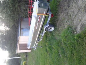 SOLD SOLD princecraft scamper 2.5 hp 4 stroke and trailer NEWW