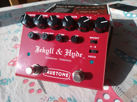 Truetone Jekyll and Hyde Dual overdrive/distortion pedal