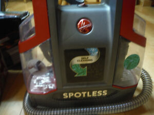 Hoover Spotless Portable Carpet&Upholstery Cleaner New (almost)