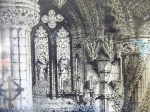 Original Etching of Roslyn Chapel, Edinburgh by Albany Howarth Stratford Kitchener Area image 4