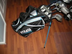 BRAND NEW GOLF BAG +Right handed Mens Full Set of Golf Clubs