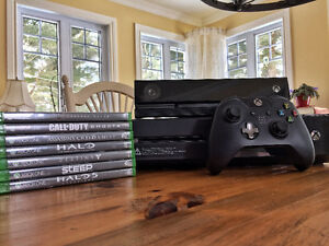 "Xbox one ""Day one edition"" + kinect + 8 jeux + manette"