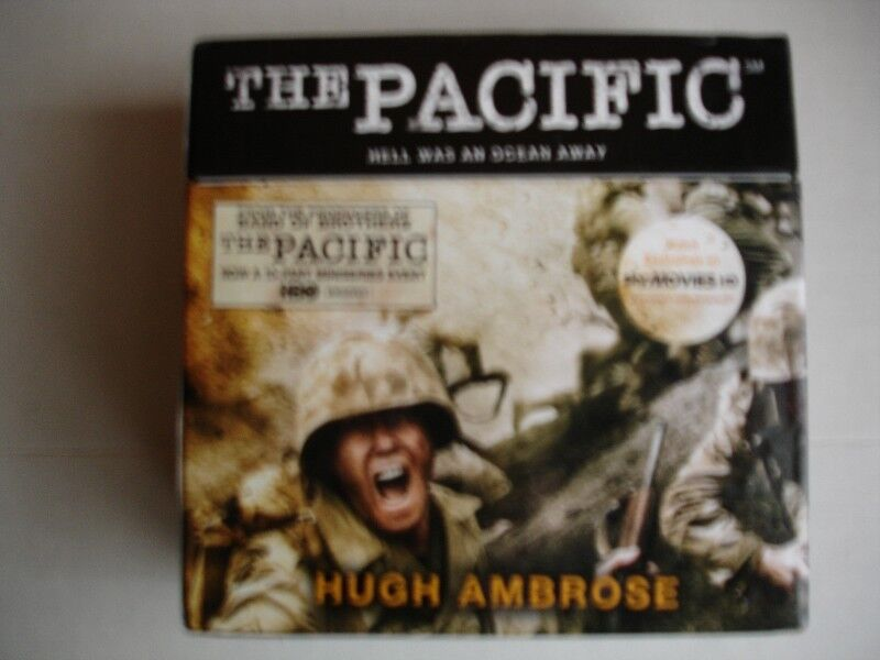 Pacific (The Official HBO/Sky TV Tie-in) by Hugh Ambrose, 19 CD's