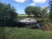 33ft banham discovery livaboard grp hull ready to live on, boat, cruiser, swap px