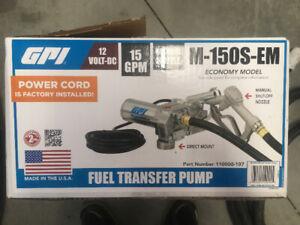 pompe de transfert avec nozzle automatic (essence/diesel)