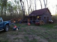 32 acres and cabin for sale