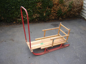 ANTIQUE 2 BABY SLEDS/ SLEIGH/ TOBOGGANS//TOYS London Ontario image 1