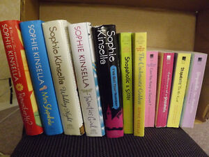 Lot of Shopaholic books by Sophie Kinsella ..11 in all