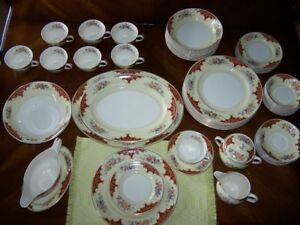 Festive Holiday China Plates Johnson Brothers Pareek
