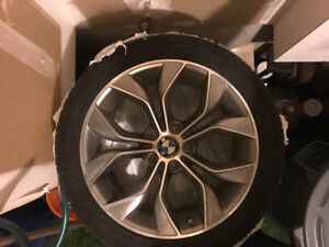 Bmw 19 inch like new rims and tires 245 / 45/ 19