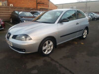 2005 SEAT IBIZA 1.2 SX - STUNNING EXAMPLE - LOW MILES - LADY OWNER LAST 6 YEARS