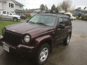 REDUCED..2004 Jeep Liberty, Limited Edition, 4x4 (Great in snow)