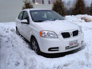 2009 Pontiac G3 Wave - with studded winter & summer tires