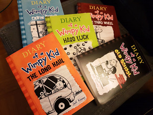 Diary Of A Wimpy Kid ($6 Each - Various Titles)