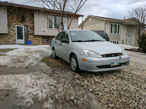 2001 ford focus NOT SAFTIED