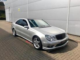 2003 03 reg Mercedes-Benz E55 AMG 5.4 auto + HUGE SPEC + CARBON STYLING KIT