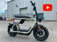 CooPop Rugged Trendy Electric Motorbike Scooter Moped Motorcycle for Motorhome