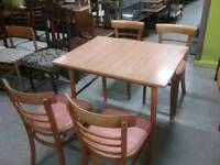 SALE NOW ON!! Kitchen / Dining Table & Set Of 4 Chairs -Can Deliver For £19
