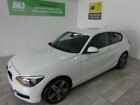 WHITE BMW 1 SERIES 2.0 116D SPORT ***FROM £215 PER MONTH***
