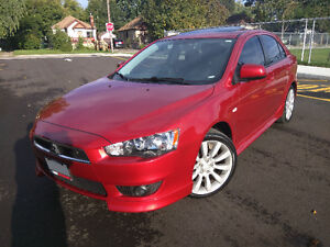 2010 Mitsubishi Lancer GTS Sportback with SUN&SOUND PKG +winters