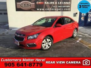 2015 Chevrolet Cruze LT w/1LT  CAM BT S/W-AUDIO REMOTE