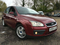 2005 05 Ford Focus 1.6 115 Ghia 77k miles full service history