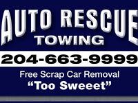 AUTO. RESCUE. TOWING.   ** 204-663-9999 **