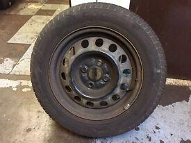 """14"""" 4x100 steel wheels"""