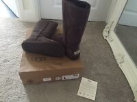 Classic brown tall UGG boots