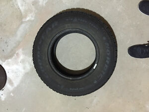 Two Goodyear Nordic 205/75R14 Winter Tires London Ontario image 2