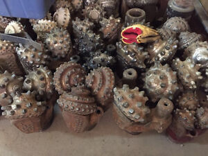 Cash Payed: Used Oilfield Tricone Button Drill Bits