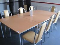 CANTEEN TABLE 18 AVAILABLE