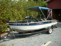 Pro V 16  Fishing boat With Trailer