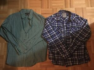 MEN'S BRAND NAME BUTTON UP SHIRTS - $10 EACH OR $80 FOR ALL 12 London Ontario image 2