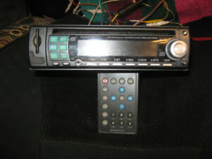 CAR STEREO WITH CD USB SD AND AUX with REMOTE located St Stephen