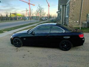 2008 BMW 3-Series 328i Convertible Rare black on black