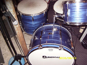 Late 60's premier 4 piece drum shell kit for sale or trade Peterborough Peterborough Area image 7