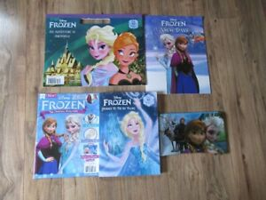 Frozen coloring/activity books