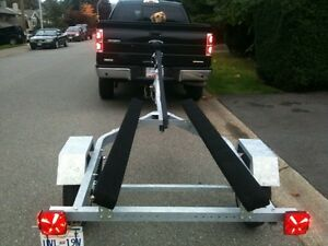 New Galvanized Boat trailer 10' to 15' boats 1000 Lb GVW