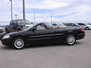 2002 CHRYSLER SEBRING CONVERTIBLE LX1