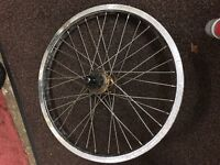 BMX free coaster rear wheel